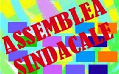 Avviso assemblea sindacale